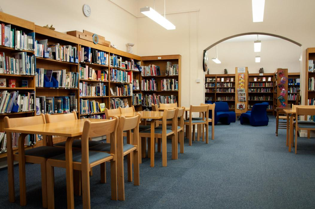 School Library, with study tables