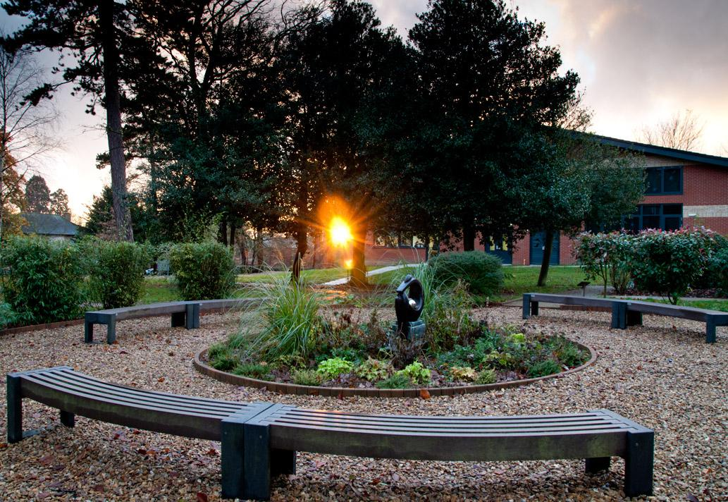 The Centenary Garden, opened in 2011